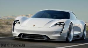Porsche Mission E Conzept. Bild: © Porsche AG