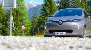 Die Renault ZOE ist schon heute serienmäßig mit künstlichen Fahrgeräuschen ausgestattet. (Bild: © Jana Höffner)
