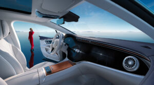 Das Interieur des Mercedes EQS (Foto: Mercedes Benz)