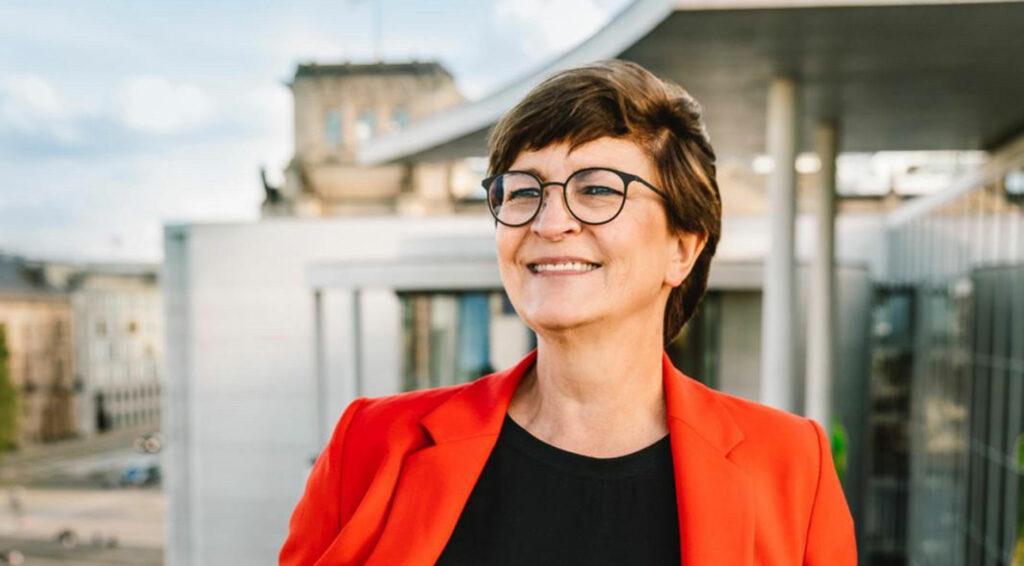 Saskia Esken, Bundesvorsitzende der SPD