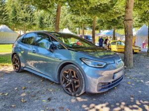 Neufahrzeuge wie der ID.3 von VW werden mit bis zu 9000 Euro Zuschuss gefördert.
